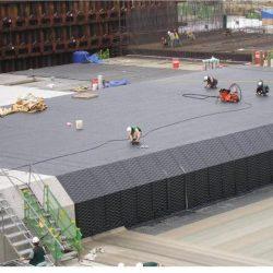 Гидроизоляция подземных парковок и гаражей